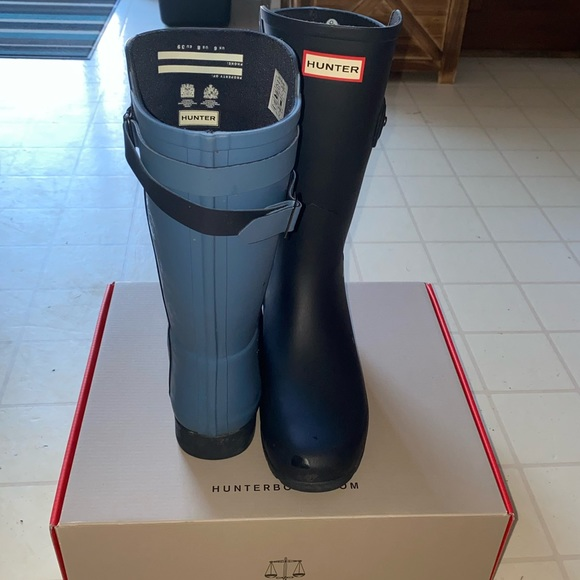 Hunter Orginal Street Boot Redefined 8 Strap